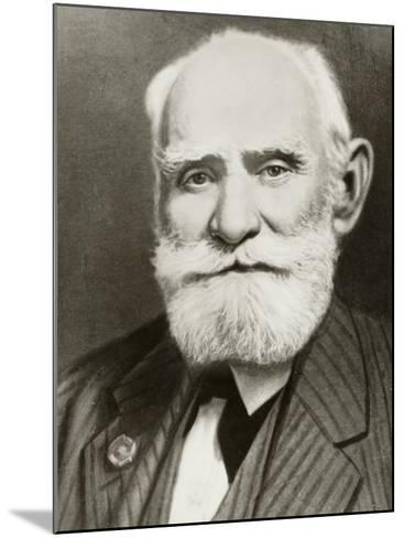 Ivan Petrovich Pavlov Russian Physiologist--Mounted Photographic Print