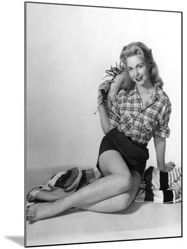 Pin-Up in Shorts 1950S-Charles Woof-Mounted Photographic Print