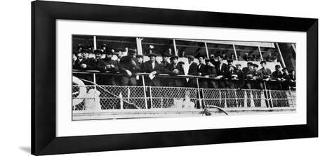 The Home Coming of the 210 Survivors of the Titanic's Crew--Framed Art Print