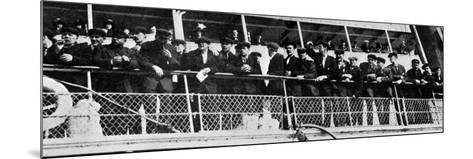 The Home Coming of the 210 Survivors of the Titanic's Crew--Mounted Photographic Print