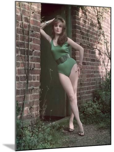 Pin-Up in Leotard-Charles Woof-Mounted Photographic Print