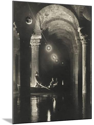 The Istanbul Underground Cistern--Mounted Photographic Print