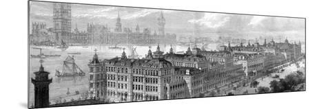 St Thomas's Hospital--Mounted Photographic Print