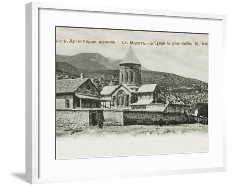 The Oldest Church in St. Mzchette, the Ancient Capital of Grouzie, Armenia--Framed Art Print
