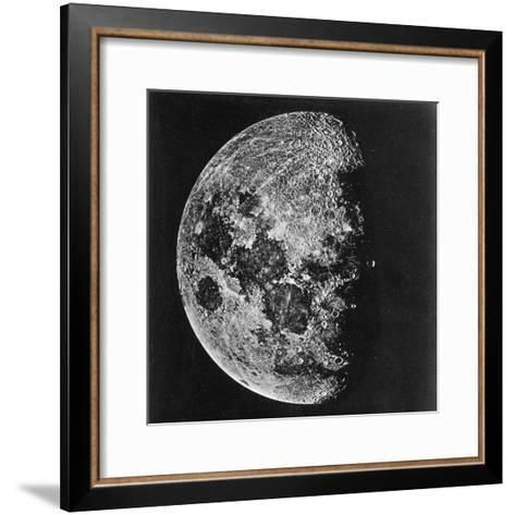 The Moon Photographed on the Tenth Day of the Lunar Cycle--Framed Art Print