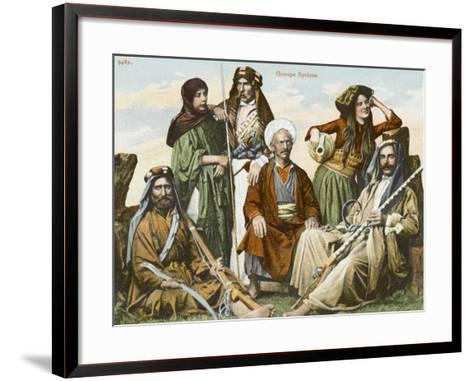Syrians in Constantinople--Framed Art Print