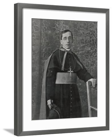 Pope Benedictus XV (Giacomo Della Chiesa) at the Time of His Election--Framed Art Print