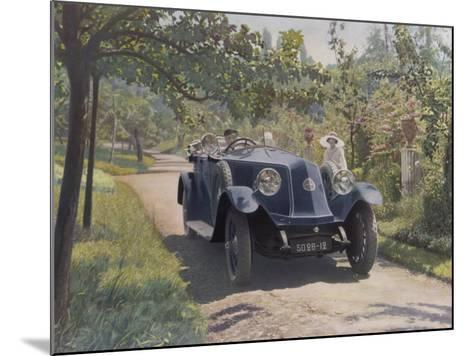 The Chauffeur of a Renault 40CV Torpedo Sport--Mounted Photographic Print