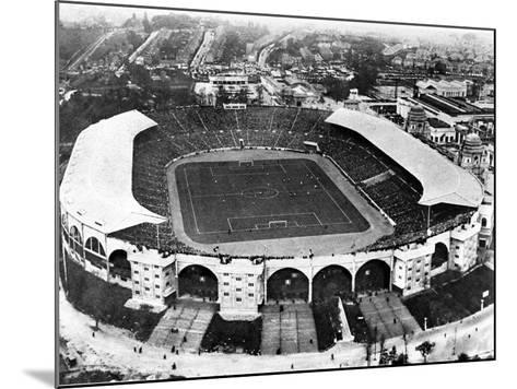 The F.A. Cup Final at Wembley Stadium, 1927--Mounted Photographic Print