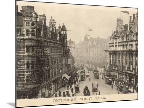 Tottenham Court Road--Mounted Photographic Print