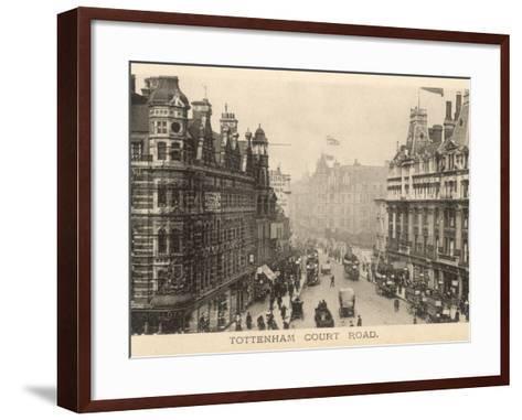 Tottenham Court Road--Framed Art Print