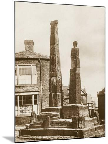 The Crosses, Sandbach--Mounted Photographic Print