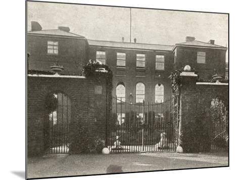 Union Workhouse, Docking, Norfolk-Peter Higginbotham-Mounted Photographic Print