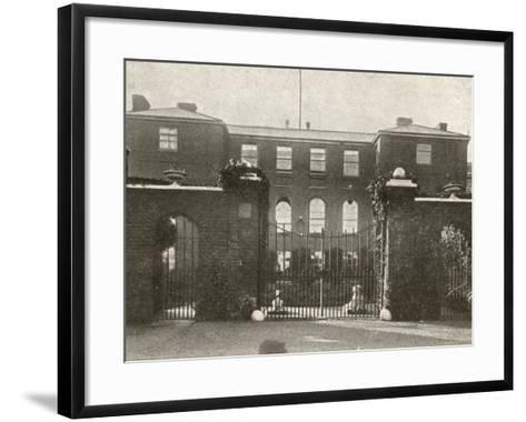 Union Workhouse, Docking, Norfolk-Peter Higginbotham-Framed Art Print