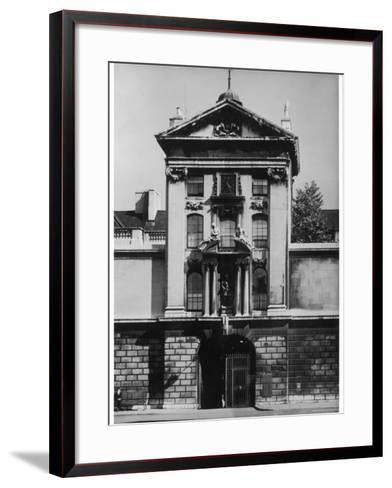 The Gatehouse of St. Bartholomew's Hospital Smithfield London--Framed Art Print