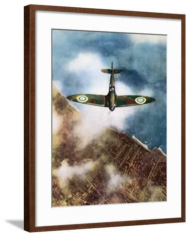 The Legendary Fighter is Seen Here in Its Original Format--Framed Art Print