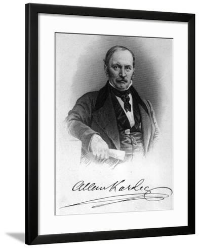 Allan Kardec--Framed Art Print