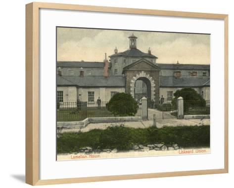 Union Workhouse, Liskeard, Cornwall-Peter Higginbotham-Framed Art Print