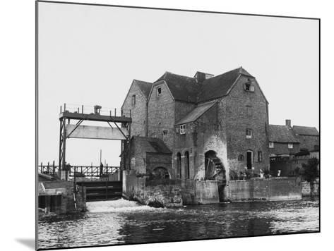 Tewkesbury Watermill--Mounted Photographic Print