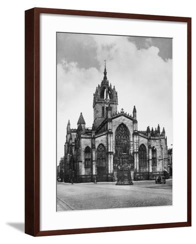 St. Giles Cathedral--Framed Art Print