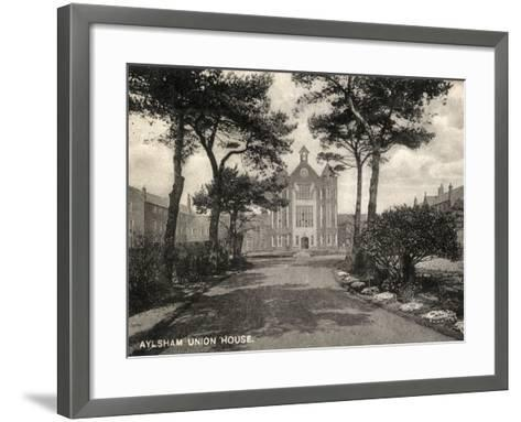 Union Workhouse, Aylsham, Norfolk-Peter Higginbotham-Framed Art Print