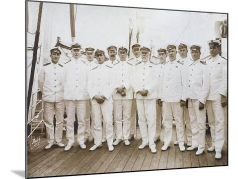 Crew of RMS Olympic--Mounted Photographic Print
