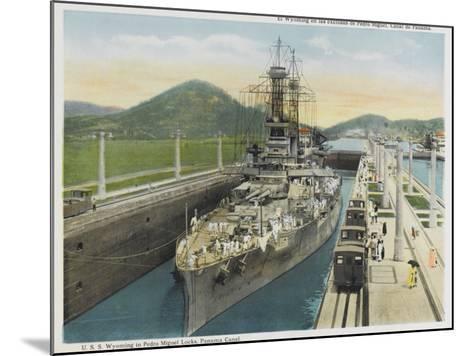 Wyoming Warship--Mounted Photographic Print
