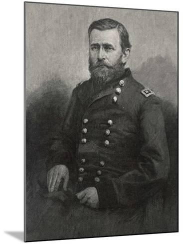 Ulysses S Grant American Civil War General and Later President--Mounted Photographic Print