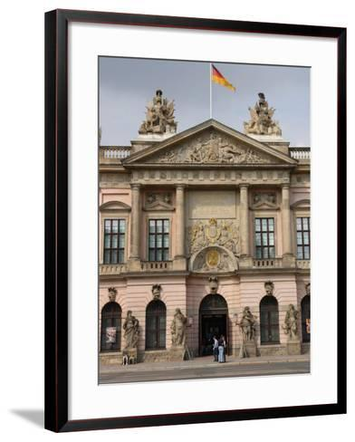 The Zeughaus (German Historical Museum), Berlin--Framed Art Print