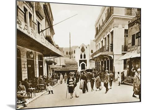 The Little Market, Tangiers, Morocco--Mounted Photographic Print