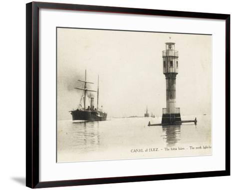 The Bitter Lakes - Suez, Egypt--Framed Art Print