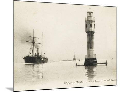 The Bitter Lakes - Suez, Egypt--Mounted Photographic Print