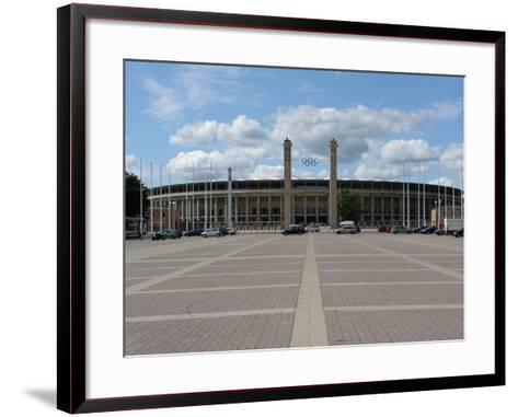 The Olympic Stadium, Berlin, Germany--Framed Art Print