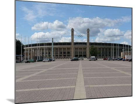 The Olympic Stadium, Berlin, Germany--Mounted Photographic Print