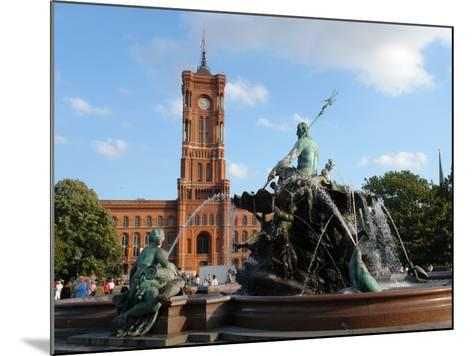 The Red Town Hall (Rotes Rathaus), Berlin, Germany--Mounted Photographic Print