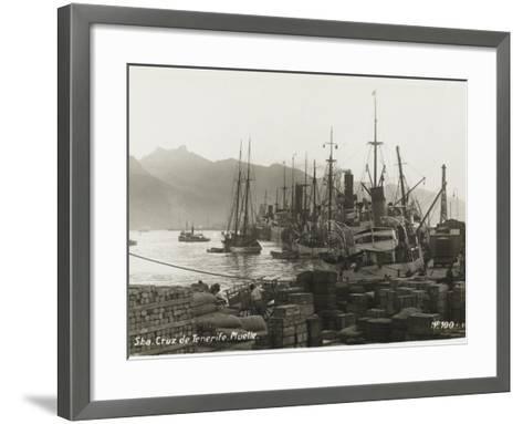 Tenerife - Canary Islands, Spain - Santa Cruz De Tenerife--Framed Art Print