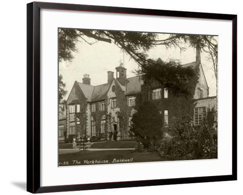 Union Workhouse, Bakewell, Derbyshire-Peter Higginbotham-Framed Art Print