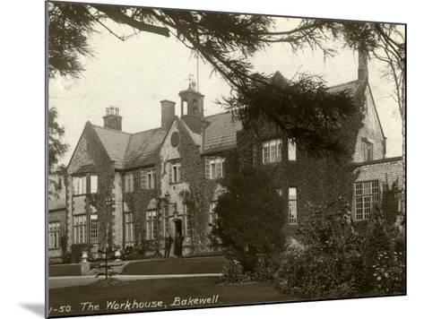 Union Workhouse, Bakewell, Derbyshire-Peter Higginbotham-Mounted Photographic Print