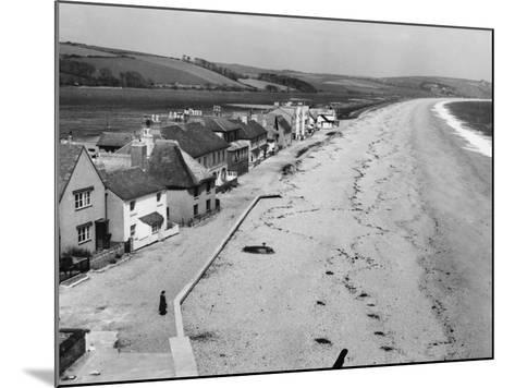 Torcross, the Little Village on Slapton Sands, South Devon, England--Mounted Photographic Print