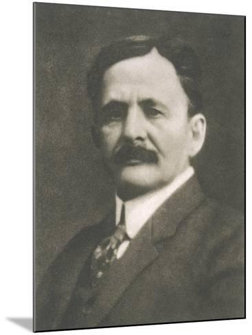 Albert Abraham Michelson American Physicist Born in Prussia--Mounted Photographic Print