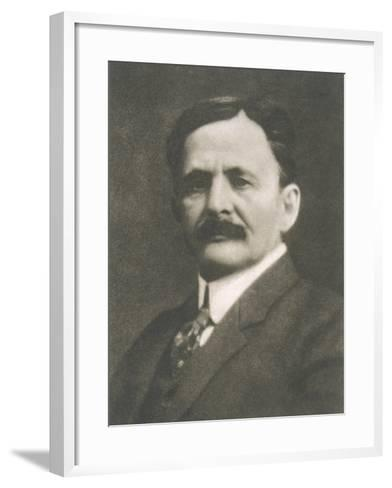 Albert Abraham Michelson American Physicist Born in Prussia--Framed Art Print
