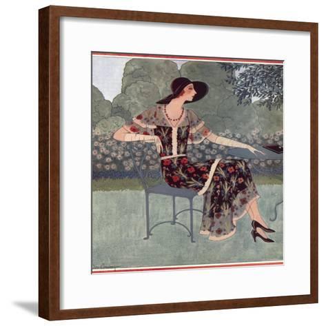 Tatler Fashions for July 1930--Framed Art Print