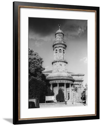 St. Mary's Church, Banbury, Oxfordshire, England--Framed Art Print