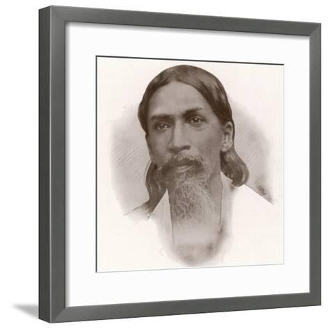 Sri Aurobindo Ghose--Framed Art Print