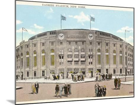 Yankee Stadium - New York--Mounted Photographic Print