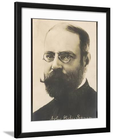 John Philip Sousa, Nicknamed the March King--Framed Art Print