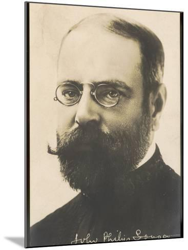 John Philip Sousa, Nicknamed the March King--Mounted Photographic Print