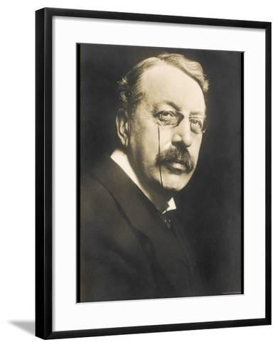 Charles Villiers Stanford British Composer Conductor and Teacher Born in Dublin--Framed Art Print