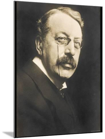 Charles Villiers Stanford British Composer Conductor and Teacher Born in Dublin--Mounted Photographic Print