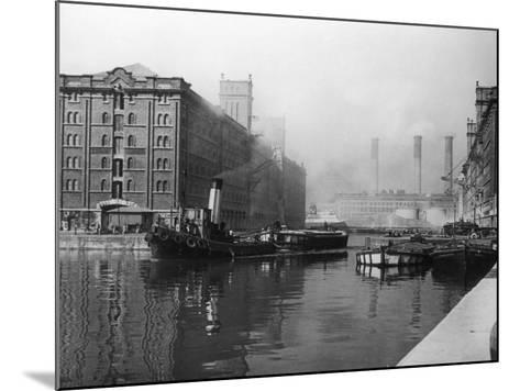 Liverpool Docks--Mounted Photographic Print